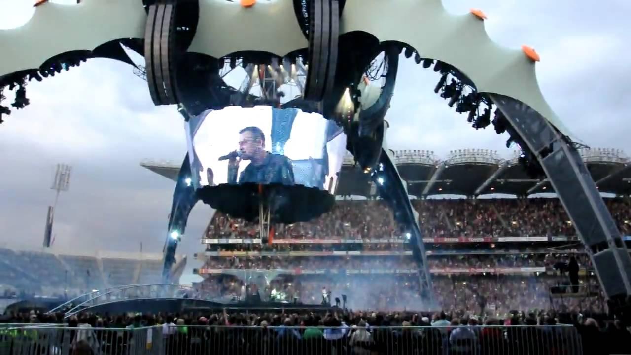 U2 360 Tour Dublin 2009 Croke Park – Sexy Boots – 27-07-2009