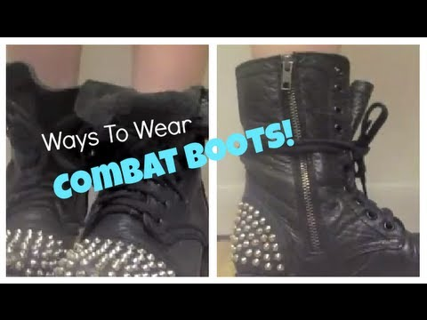 Ways To Wear Combat Boots