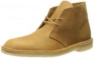 Clarks Men's Desert Boot Chukka Boot, Mustard, 9 M US