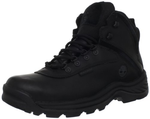 Timberland Men's White Ledge Mid Waterproof Ankle Boot,Black,10 W US