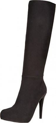 Aldo Women's Paleven Harness Boot, Black Microsuede, 38.5 EU/8 B US
