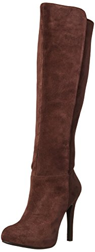 Jessica Simpson Women's Avalona Dress Boot, Fudgie, 7.5 M US