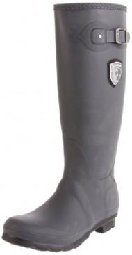 Kamik Women's Jennifer Rain Boot,Charcoal,8 M US
