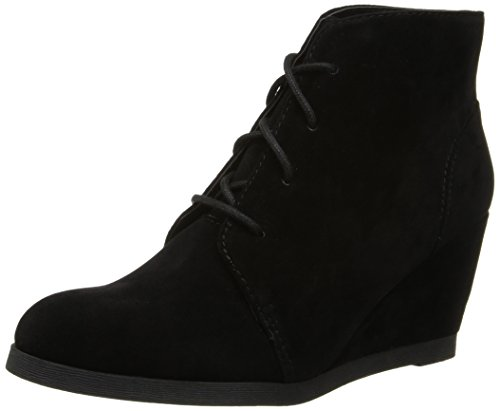 Madden Girl Women's Doman Chukka Boot,Black,7.5 M US