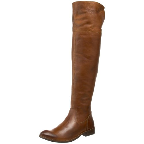 FRYE Women's Shirley Over-The-Knee Riding Boot, Brown, 9.5 M US