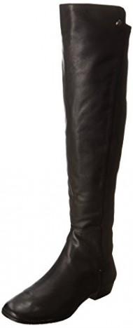 Vince Camuto Women's Karita Riding Boot, Black, 6.5 M US
