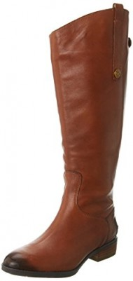 Sam Edelman Women's Penny 2 Wide Shaft Riding Boot, Whisky, 9 M US