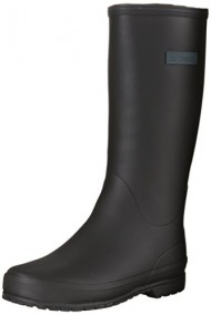 Tretorn Women's Kelly Vinter Rain Boot,Black,38 B EU (US Women's 7 B)