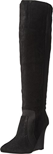 Report Signature Women's Islah Slouch Boot, Black, 9 M US