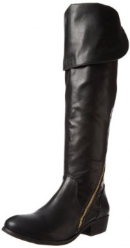 Report Signature Women's Gwyn Knee-High Boot,Black,6 M US