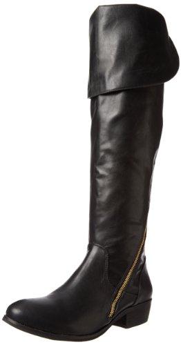 Report Signature Women's Gwyn Knee-High Boot,Black,6 M US