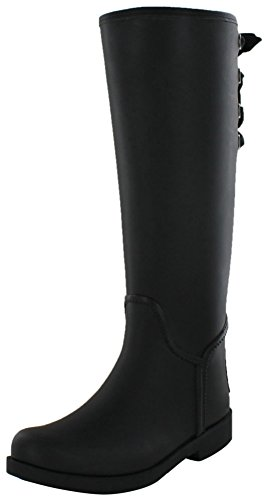 Coach Tristee Women's Mat Rubber Rainboots Wellies Black Size 8