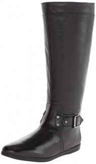 Nine West Women's Truthe Riding Boot,Black,5 M US