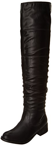 Penny Loves Kenny Women's Ego Riding Boot, Black Matte, 6 M US