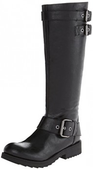 Nine West Women's Aragosta Riding Boot Boot,Black,10.5 M US