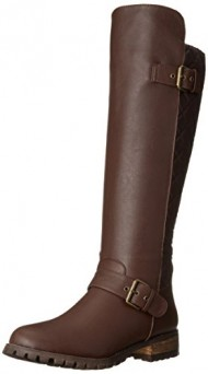 Dirty Laundry Women's Twist and Shout Winter Boot, Brown, 9 M US