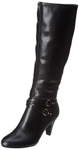 Naturalizer Women's Byron Wideshaft Riding Boot,Black,9 M US