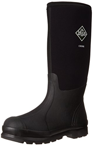 The Original MuckBoots Adult Chore Hi-Cut Boot,Black,Men's 6 M US / Women's 7 M US