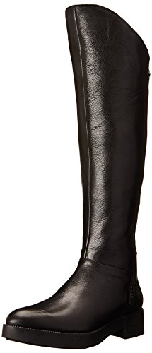 Kenneth Cole New York Women's Jael Riding Boot, Black, 6.5 M US