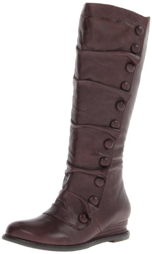 Miz Mooz Women's Bloom Riding Boot, Brown, 10 M US