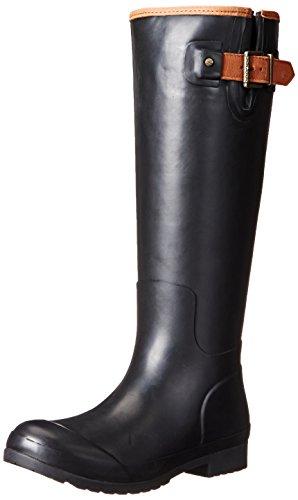 Sperry Top-Sider Women's Walker Haze Rain Boot, Black, 6 M US
