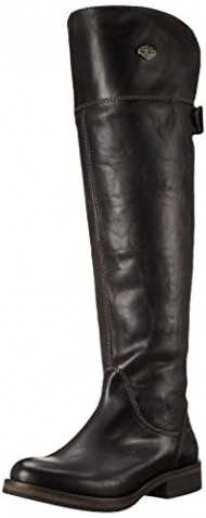 Harley-Davidson Women's Monique Motorcycle Boot,Black,6.5 M US