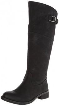 Very Volatile Women's Carmi Riding Boot,Black,10 B US