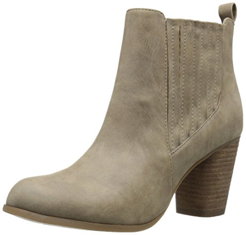Madden Girl Women's Dominicc Boot, Taupe Paris, 6.5 M US