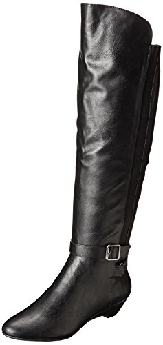 Madden Girl Women's Zilch Motorcycle Boot,Black,7.5 M US