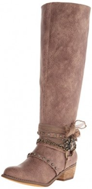 Not Rated Women's Tualamne Winter Boot, Taupe, 10 M US