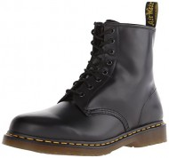 Dr. Martens 1460 Originals 8 Eye Lace Up Boot,Black Smooth Leather,7 UK (US Women's 9 M/US Men's 8 M)