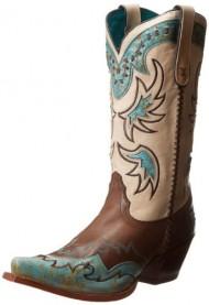 Tony Lama Women's Cassidy Western Boot,Espresso,8 B US