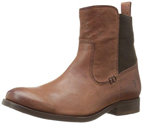 FRYE Women's Molly Gore Short Boot, Whisky, 9.5 M US