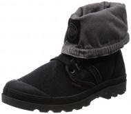 Palladium Women's Pallabrouse Gator Chukka Boot,Black,6.5 M US