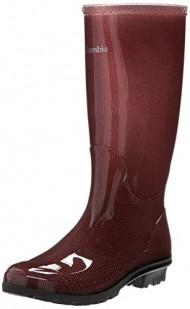 Columbia Women's Luscher Omni-heat Rain Boot,Carbernet,10 M US