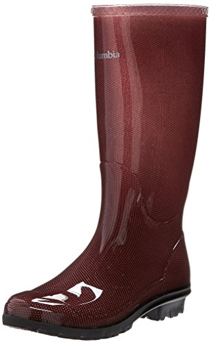 Columbia Women's Luscher Omni-heat Rain Boot,Carbernet,10 M US