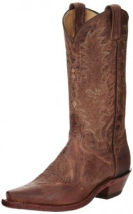 Tony Lama Women's 1796-l Boot,Tan Saigets Worn Goat,7 C US