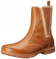 Bogs Women's Pearl Slip On Leather Shoe,Tan,9.5 M US