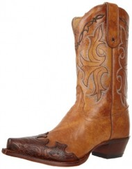 Tony Lama Women's Tan Santa Fe VF6003 Boot,Tan Santa,7 B US