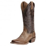 Ariat Women's Good Times Cowgirl Boot Square Toe Gun Smoke US