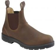 Blundstone Unisex Original 550 Series Slip On Boot Brown 7 M UK
