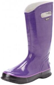 Bogs Women's Rainboots Linen Boot,Plum,7 M US
