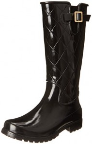 Sperry Top-Sider Women's Pelican III Rainboot, Black/Black, 7 M US