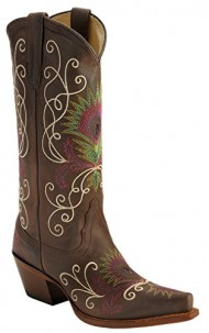 Tony Lama Women's VF3039 Boot,Espresso Tucson,8 B US