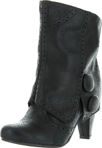 Not Rated Womens Cowgirl Star Chukka Boot Black Size 6
