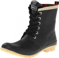 Tommy Hilfiger Women's Renegade Rain Shoe, Black, 8 M US