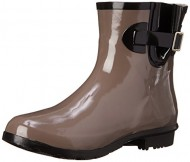Nomad Women's Droplet Rain Boot, Taupe, 6 M US