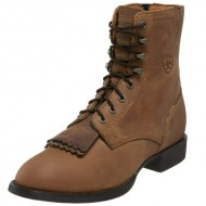 Ariat Women's Heritage Lacer II Western Boot, Distressed Brown, 8 M US