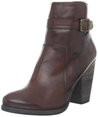 FRYE Women's Patty Riding Bootie, Redwood, 7.5 M US