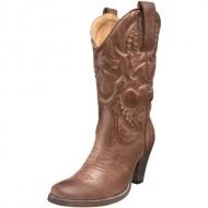 Volatile Women's Denver Boot,Tan,7.5 M US